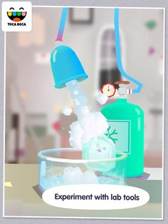 FREE TODAY ONLY - March 21 - Toca Lab (best Android apps for kids) - Give your little Nobel scientist a head start