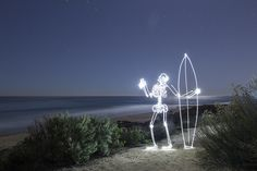 San Onofre surf-ghost by Darren Pearson Long Exposure Camera, Long Exposure Photos, Surfboard Art, No Photoshop, Photography Projects, Light Painting, Light Art, Light Photography, Photo Manipulation