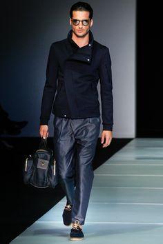 Giorgio Armani Spring 2012 - Look 9