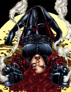 black widow [natalia (natasha) alianovna romanova] #Marvel comics #comicgirl . For more images follow pyra2elcapo