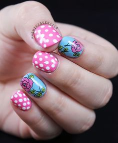 Magnifique Nails: Born Pretty Store: Floral Water Decals Review & Tutorial