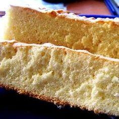 Simple sponge cake dairy-free