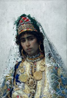 The Berber Bride, c. 1896 Museu Nacional d'Art de Catalunya Josep Tapiró i Baró (Catalan,1836 - 1913)