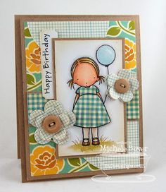 Happy Birthday | Paper Cuts card by Michelle Boyer