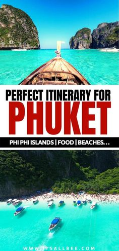 Best Phuket Itinerary -Top Things To Do In Phuket.  Beaches, island hopping, markets, nightlife, temples and much more. Best Phuket travel guide #thailand #traveltips #itsallbee #asia phuket thailand photography | phuket thailand outfit | phuket thailand things to do | phuket thailand itinerary | phuket where to stay Phuket Travel, Thailand Travel Tips, Phuket Thailand, Asia Travel, Beach Travel, Phuket Phi Phi Island, Beaches In Phuket, Karon Beach, Travel Guide