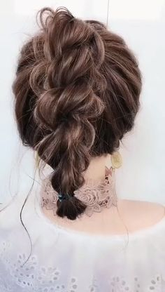 # Braids videos frisuren Hairstyle for short hair Easy Hairstyles For Long Hair, Girl Hairstyles, Braided Hairstyles, Locks Hairstyle, Hairstyle Short Hair, Long Hair Updos, Cute Ponytail Hairstyles, Easy Party Hairstyles, Korean Hairstyles