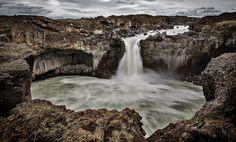 Aldeyjarfoss by Iceland Aurora Photo Tours