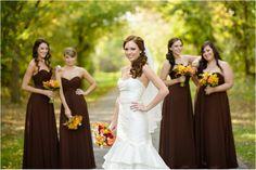 stunning wine themed fall wedding