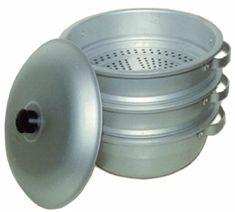 11″ 28cm 3-Tier Aluminum Steamer Set Review Cookware, Steamers, Homemade, Pots, Handle, Diy Kitchen Appliances, Kitchen Gadgets, Home Made, Door Knob