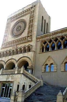 Antiguo Seminario, hoy dependencias municipales en Zaragoza España. Foto Beatriz Benedicto.