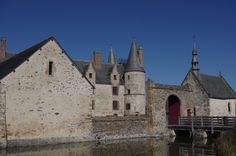 Haute-cour du château, LE BOIS ORCAN, classé MH