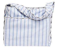 Bolsa de playa Bjorn - azul y gris