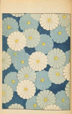 Bijutsukai // Traditional Japanese patterns, perfect for kimono fabric, from…