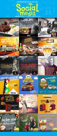 posts feito na agência Picadilha para alguns de seus clientesDiretor de Arte: Ari NetoDiretor de Criação Thiago Sarandy