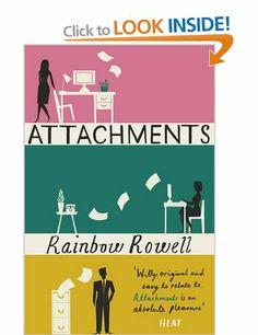Attachments: Amazon.co.uk: Rainbow Rowell: Books