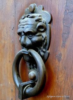 Avignon: Heurtoirs de portes