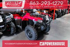 New 2016 Honda FourTrax Rancher 4x4 Auto DCT EPS T ATVs For Sale in Florida. 2016 HONDA FourTrax Rancher 4x4 Auto DCT EPS T, McKibben Powersport Honda is a family owned and operated level 5 Honda Powerhouse dealership in Winter Haven, Florida. We are located at 3699 US HWY 17 N Winter Haven Fl, 33881 between US HWY 92 and Havendale Blvd. We proudly serve Polk county and the surrounding areas, to include Lakeland, Auburndale, Bartow, Kissimmee, Lake Alfred, and Sebring. We are a Honda…