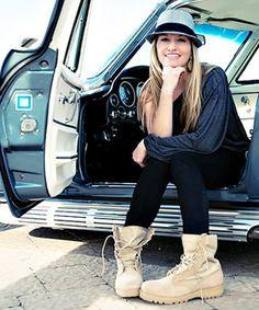 Boot Girl Heather!
