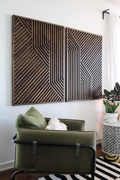Modern Wall Art, Wood Wall Art, Fill Nail Holes, Reclaimed Wood Art, Geometric Wall Art, Panel Art, Wood Pieces, Wooden Walls, Interiores Design