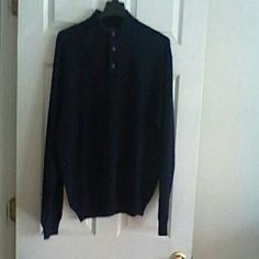 Other - Faconnable Men's  Navy Sweater-JUST REDUCED!!