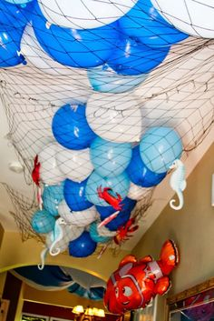Momsters - Parenting n All the Jazz!: Under Water Theme Birthday Party