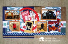Front Porch Kit- Happy Home- Double Layout by Susan Liles