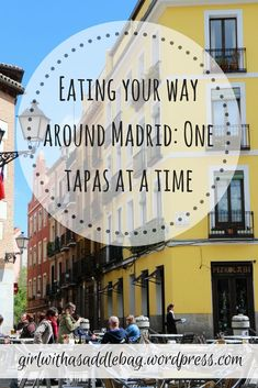 Eating your way around Madrid: One tapas at a time. Our guide shows you the best produce markets, traditional cafes, lively tapas bars and vibrant streetfood in the Spanish capital. Madrid Tapas, Madrid Food, Cool Places To Visit, Places To Go, Best Tapas, Tapas Bar, Spain Travel, Travel Europe, Spain And Portugal