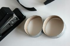 Despicable Me Goggles | Once your paper tubes are dry, staple them together in the center ...
