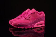 more photos 0ffb8 90363 nike air max todo el tenis de color rosa