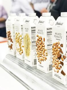 You searched for elmhurst - Page 2 of 14 - A Gutsy Girl Milk Plant, Plant Based Milk, Milk Packaging, Food Packaging Design, Numi Organic Tea, Paleo Bars, Milk Brands, Healthy Starbucks, Peanuts