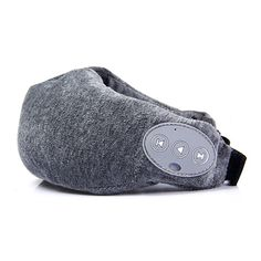 """Wireless Bluetooth RC Music Eye Patch Blindfold Shade Velvet Travel Sleep Aid Handsfree Function Eyeshade - GRAY. Press the on / off button about 5S till the LED light blink from blue - red. Open the Bluetooth in your phone and match with """" 9ohonner """". After match successfully open the music in your phone, then you can enjoy the music with the eyeshade, press the on / off button can pause it. Press the on / off button, you can answer the phone, press again for up it.Press on / off button 2…"""