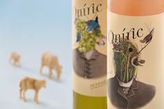 Imagen para la gama de vinos Oníric 2015