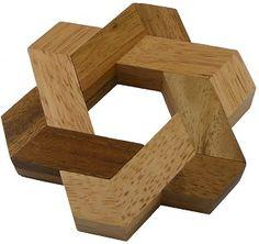 Star of David - Wooden Puzzle Brain Teaser