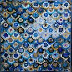 Peacock Hexagons