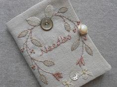 gentlework embroidery, needle book