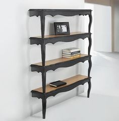 Used two Coffee tables - another example for shelving