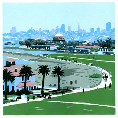 Crissy Field Print by Jim Winters.
