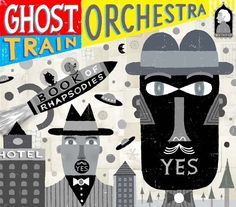 Cover art for Ghost Train Orchestra jazz CD by NoahWoods