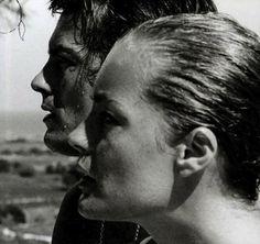 Alain Delon & Romy Schneider •
