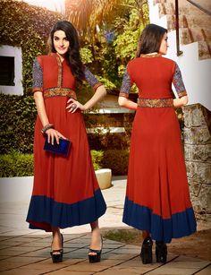 Ethnic wear follow on face book : nikeesha creation