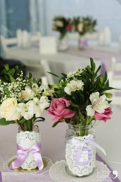 #centerpieces #centrosdemesa #decoracion Cumpleños de un año! Have you checked our website? www.kommaeventos.com.uy