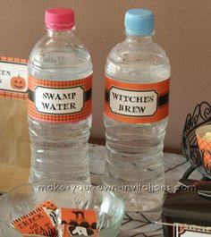 Swamp Water - Printable Halloween Decorations - 2011 Halloween Printables