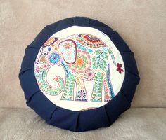 Elephant Zafu meditation cushion