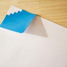 Fuji sticky note by Goodbymarket - goodbymarket.com #japanesedesign #fuji