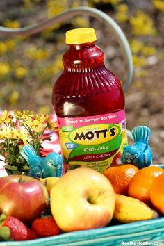 Have you tried the new Mott's® Apple Cherry Juice? Get it now at Walmart and share your #MottsMoments for a chance to Win $100 Walmart egift card!  #Sweepstakes #ad