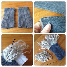 If you have access to beautiful sheep curls, you have to do something … - Easy Yarn Crafts Wet Felting Projects, Knitting Projects, Nuno Felting, Needle Felting, Felt Flower Scarf, Easy Yarn Crafts, Spinning Yarn, Fairy Makeup, Textiles