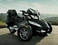 Can-Am Spyder RT-S Roadster, 2010-2011