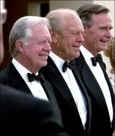 Three Presidents ... Carter, Ford, and Bush