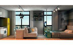 decoração de apartamentos studios - Pesquisa Google