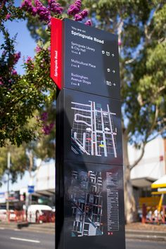 Springvale Activity Centre: Wayfinding Strategy and Signage - Silver Winner - 2014 Melbourne Design Awards Map Signage, Entrance Signage, Directional Signage, Wayfinding Signs, Retail Signage, Event Signage, Outdoor Signage, Exterior Signage, Signage Design